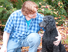 Thom Williams animal communicator solves behavoir problems in pets